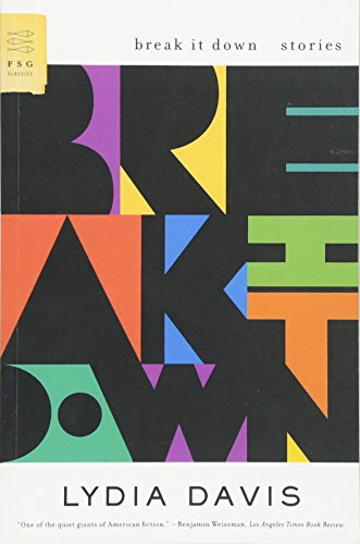Break It Down: Stories (FSG Classics)