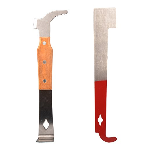 StarSide-2-Pcs-Bee-Hive-Scraper-Tool-Bee-Hive-Frame-Lifter-and-Scraper-for-Beekeepers