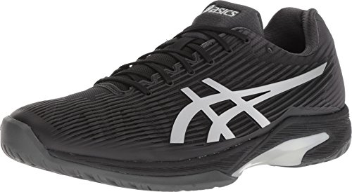 ASICS Solution Speed FF Mens Tennis Shoe (Black/Silver) (11)