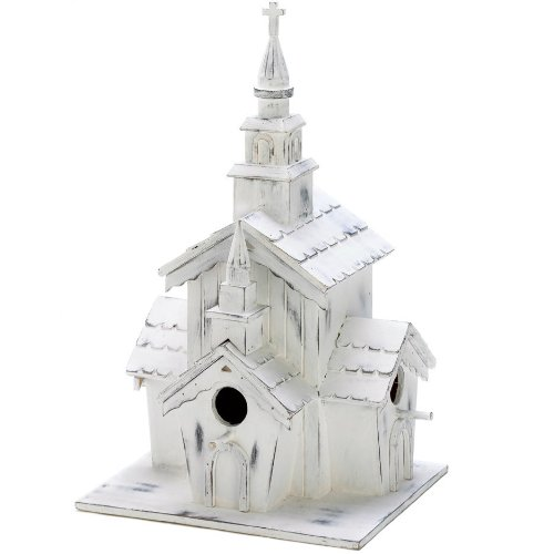 (Country Chapel Bird House)