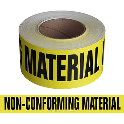 Tape-Non-CONFORMING Material
