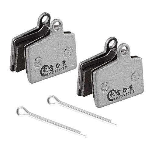2 pairs Bicycle Disc Brake Pads For Hayes Stroker Ryde Ride Comp Hayes Dyno Comp Sport Hayes Radar Brake Pads, Resin ()