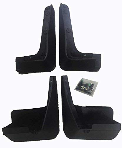 (Mud Flaps Mud Splash Guards Clean Protection for 14-17 Subaru Forester 4 PC Set by Kaungka)