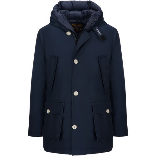 Blue Wocps2476 Mlb Melton Parka New Arctic Woolrich Nf 0dPq0x