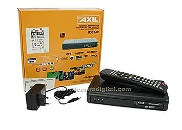 RS3240 Receptor Satelite TNTSAT HD PVR: Amazon.es: Electrónica
