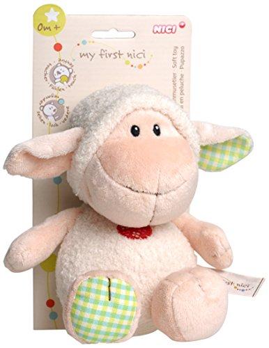 Nici 35999 My First Nici Schmusetier Lamm mit Headercard, 25 cm