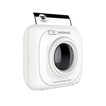 Mini papel térmico impresora fotográfica Bluetooth impresora ...