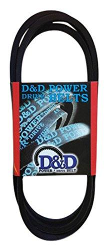 Rubber 133 Length OffRoad Belts 133 Length D/&D PowerDrive F20032 Case Ih Replacement Belt 1 -Band D