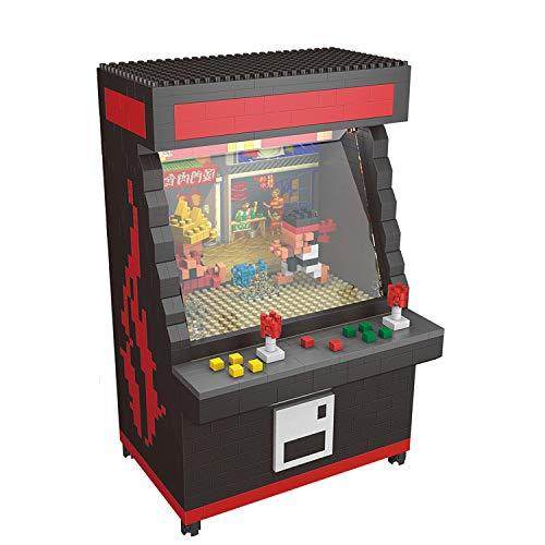 Street Fighter Arcade Game Model Building Block Set 1060pcs Nano