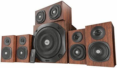 Trust 21787 Vigor 5 1 Surround Speaker System for PC and