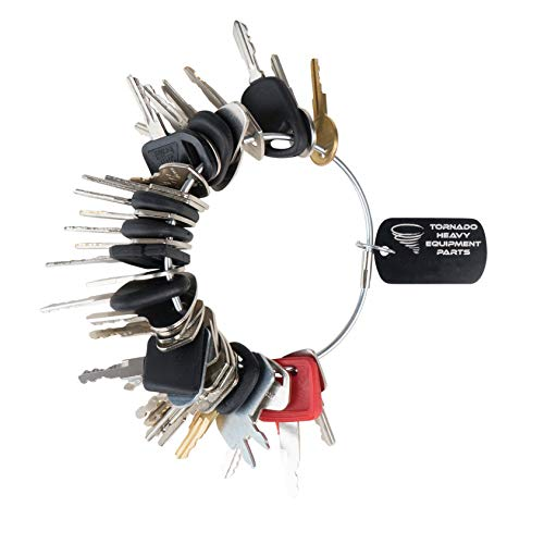 Construction Equipment Master Keys Set-Ignition Key Ring for Heavy Machines, 36 Key Set by TORNADO HEAVY EQUIPMENT PARTS (Image #6)