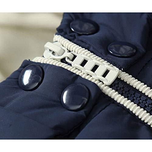 Modo Cappuccio Giù Cotone Calda Traspirante Inverno Con E Giacca Di Abbigliamento Uomini Dimensioni Gilet Spessore Nero Confortevoli wOgBIgq
