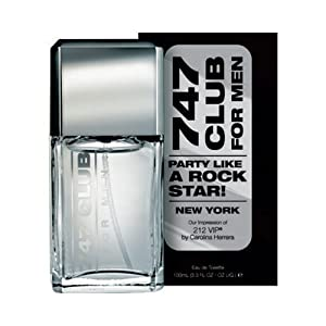 747 Club For Men Perfume (Impression of 212 VIP by Carolina Herrera)