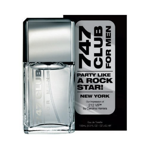 747 Club For Men Perfume (Impression of 212 VIP by Carolina Herrera)