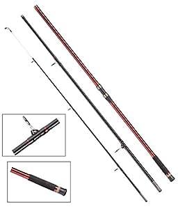 DAM Steelpower Red G2 SURF, 3.90m/13.00ft, 100-250g, 3 parts - Surfcasting rod