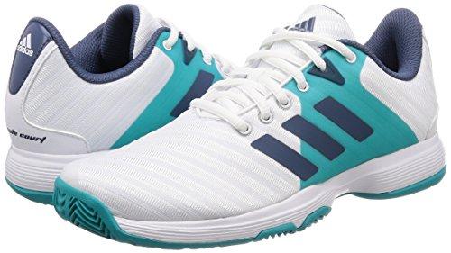 blanco Femme Tennis Adidas Blanc W De Barricade Chaussures 000 Court 1Anq8wpZ