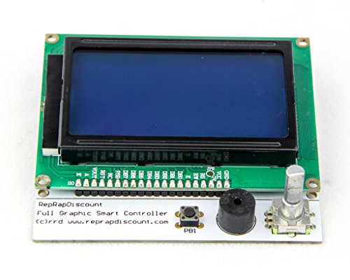 Full Graphic Smart LCD Controller (128 x 64 display with SD card reader) by RepRapdiscount