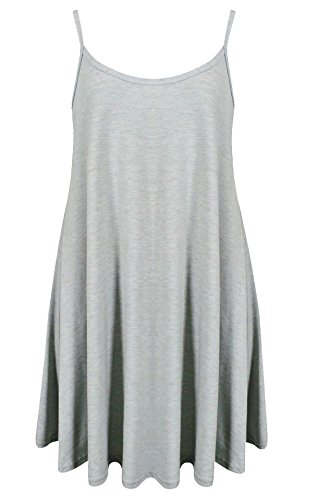 Baliza - Vestito - Donna Light Grey