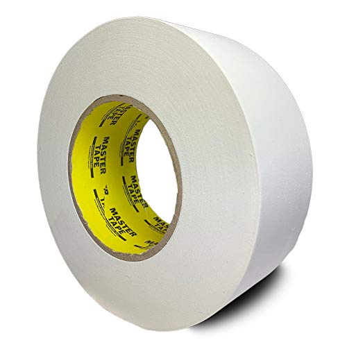 Gaffers Tape - Premium Grade Professional Gaffer Tape, DJ Pro Gaff Tape White - 3 inch X 60 Yards - Easy Tear Gaffing Tape White - True 3