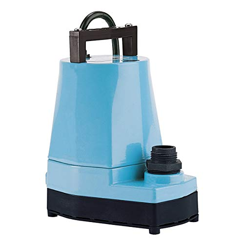 LITTLE GIANT 505005 1/6 HP Submersible Utility Pump, 5-MSP, 115V, 1200GPH (1-(Pack)) ()