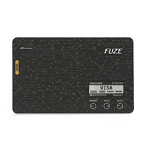 - Fuze Card - No EMV Chip, Magnetic Stripe Only