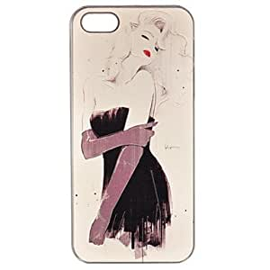 HP Fashion Ultrathin Relievo PC Hard Case for iPhone 5/5S