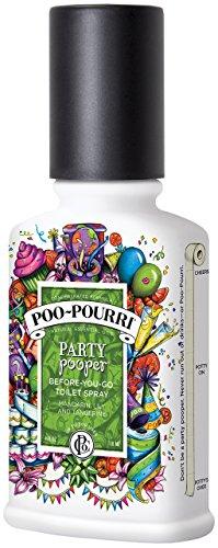 Poo-Pourri Party Pooper Before You Go Toilet Spray, 4 oz.