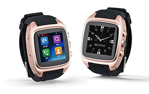 longqi reloj WiFi GPS inteligente electrónica reloj correa de silicona Android reloj unisex