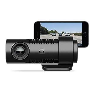 nonda ZUS Smart Dash Cam with ZUS App, Front Dash Cam HD 1080P Video, Sony IMX323 Sensor, 140° Wide Angle, G-Sensor, Enhanced Night Vision, Loop Recording, Built-in WiFi, Model Number: ZUDCBKSNA
