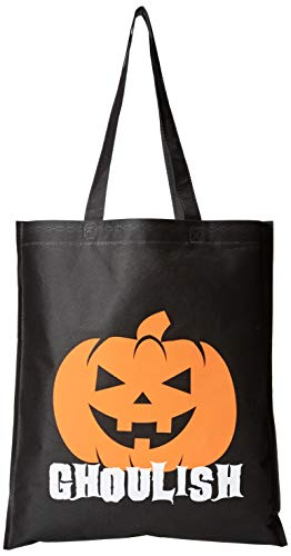 Bulk 12 Pack Kids Large Halloween Trick or Treat Fun Tote Bag Assortment - Holds All of The loot from Trick or Treating and Trunk or Treating -