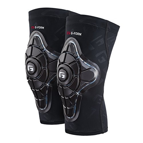 G-Form Pro-X Knee Pads(1 Pair), Black/Teal Camo, Adult X-Large