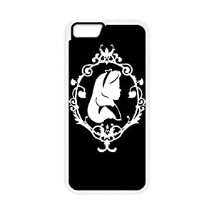 ALICE IN WONDERLAND la etiqueta para el mejor funda iPhone 6 funda del teléfono celular de 5.5 pufunda LGadas 6s Plus cubre blanco