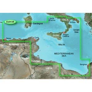 Garmin Bluechart G2 - HXEU013R - Italy Southwest & Tunisia - Micro SD & SD by Garmin