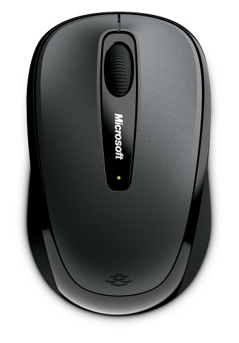 Microsoft Wireless Mobile Mouse 3500 for Business - 5RH-00003, Loch Ness Gray