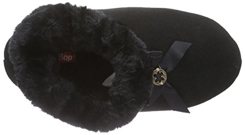 flip*flopcouchy - pantuflas Mujer Negro - Schwarz (000)