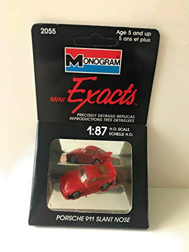 (Monogram Mini Exacts Porsche 911 Slant Nose 1:87 Scale (#2055))