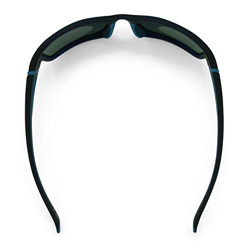 Polarized Fisherman Navy Flying Frames Matte With Crystal Cove ...