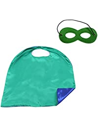 Superhero Capes and Masks Dress up Halloween Costume for Kid & Adult