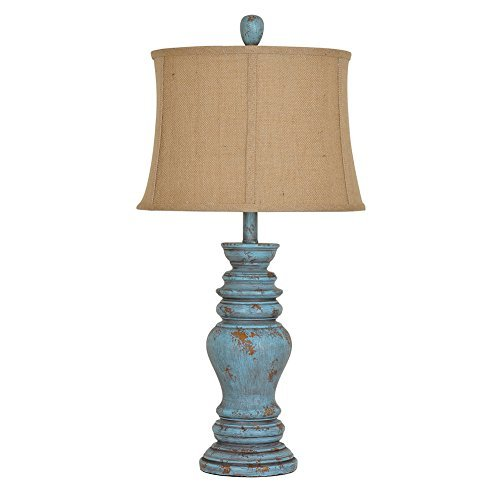 Barclay Antique Turquoise Table Lamp ()