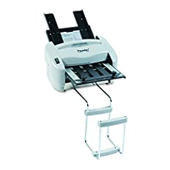 Convenient tabletop folding machines that works great in small to medium offices and mailrooms. Automatically feeds and folds your documents. Folds up to 3 sheets at a time including stapled sets. Includes stacking tray. Max Feed Tray Capacit...