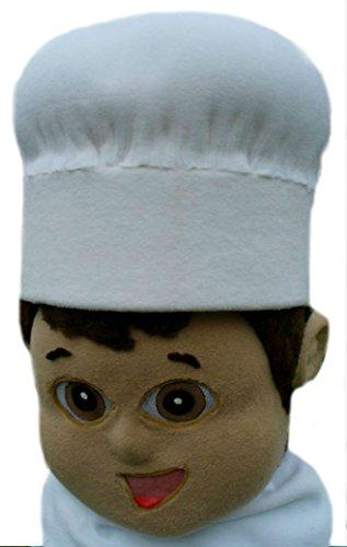 cjs huggables Mascots USA Custom Pro Low Cost Young Chef Mascot Costume]()