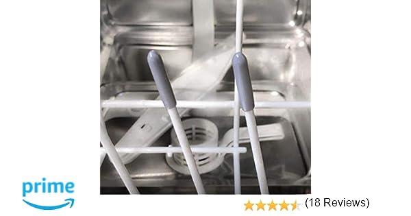 Tapas para la estante del lavavajillas [100 piezas, gris] GARANTÍA ...