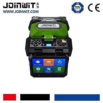 Joinwit JW4106S - Splicador de Fibra óptica Fusion Inteligente automático FTTH Soldadura Inteligente multilingüe: Amazon.es: Electrónica