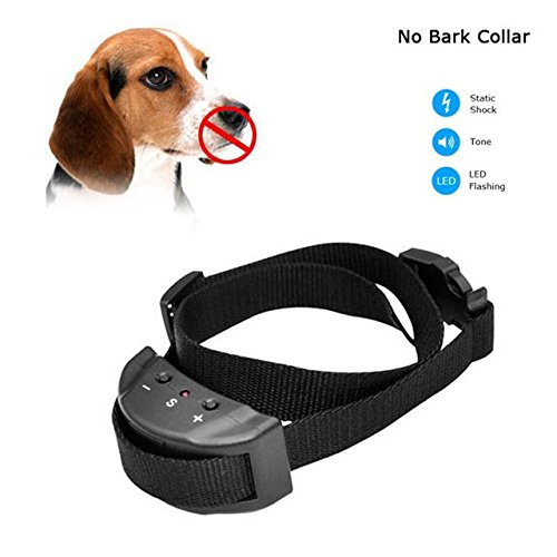 Shock Collar For Dogs - Small Dog Collar - Anti Bark No Barking Remote Electric Shock Vibration Remote Pet Dog Training Collar 88 - Large Dog Collar -