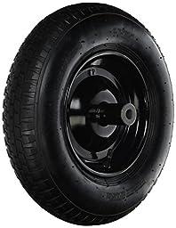 THE AMES COMPANY T22CC Wheel/Tire Assembly with Hub 8 Inch Wheelbarrow Wheel