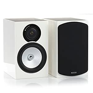 Monitor Audio - Altavoces Silver Rx2 (Blanco Brillante,Pareja)