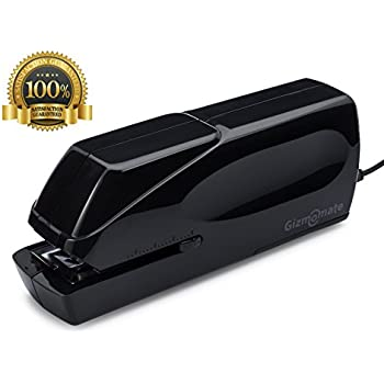 GM-X Automatic Electric Stapler, Heavy Duty Jam-Free 25 Sheet Professional Office Stapler ✮ Free AC Cord and Staples with Warranty