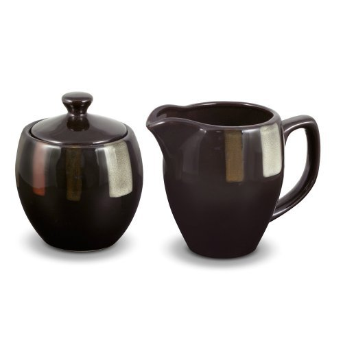 Pfaltzgraff Tahoe Covered Sugar and Creamer Set