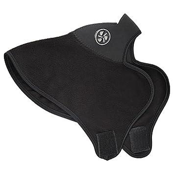 Máscara Térmica De Neopreno Para Bici Bicicleta, Moto, Esquí, Color Negro