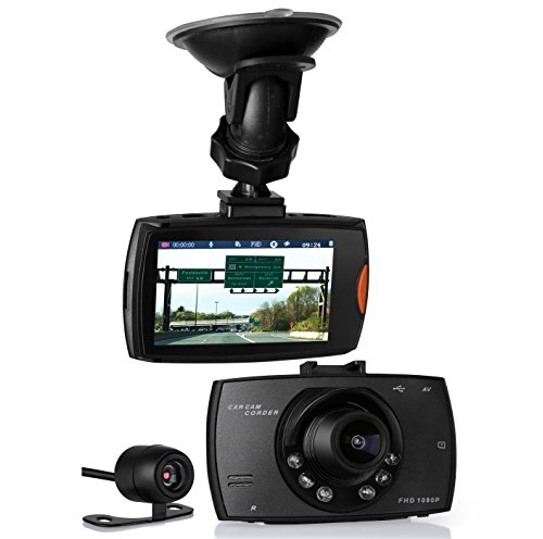 "2.7"" Screen Full HD 1080P Super Night Version 170° Wide Angle Lens Car Dashboard Camera Car DVR Monitor For Sale"
